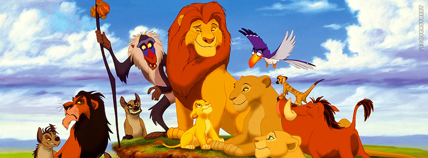 the lion king movie cast facebook cover
