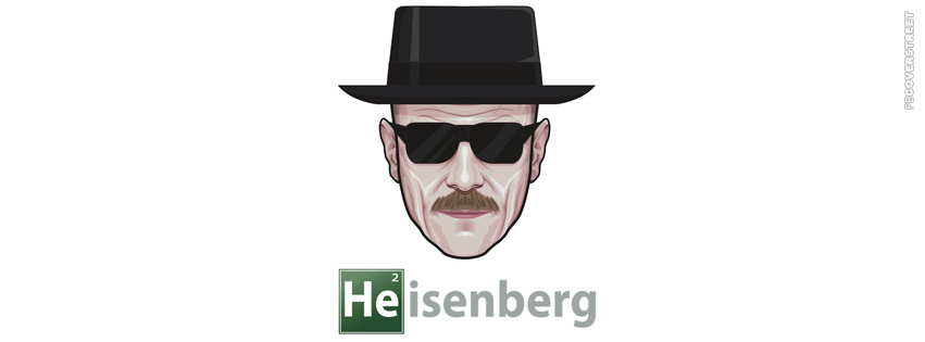 Heisenberg Minimal Artwork  Facebook Cover