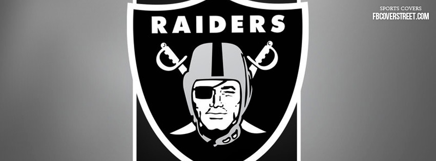 Oakland Raiders Logo 2 Facebook Cover