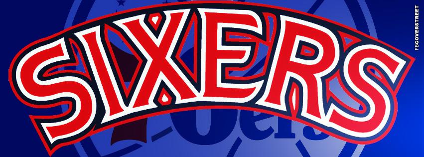 Philadelphia 76ers Logo Facebook Cover  Facebook cover