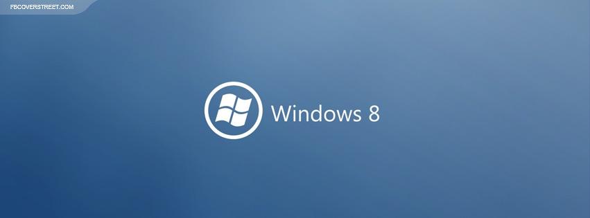Windows 8 Type Logo  Facebook cover