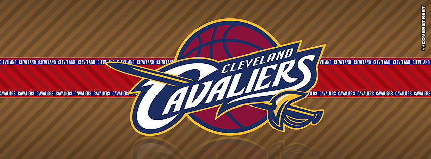 Cleveland Cavaliers Striped Facebook cover