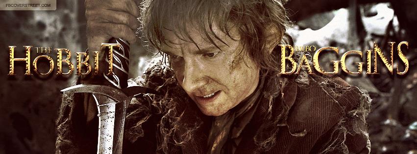 The Hobbit An Unexpected Journey Bilbo Baggins 2 Facebook Cover