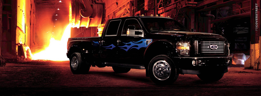 Ford F 450 Harley Davidson Edition  Facebook cover