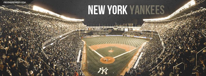 New York Yankees Stadium Crowd Facebook Cover