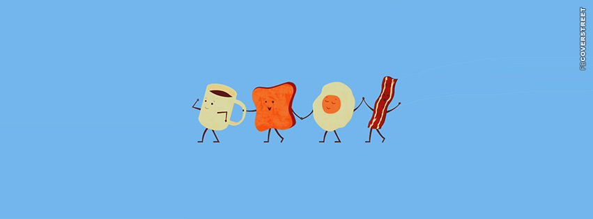 Happy Breakfast  Facebook cover