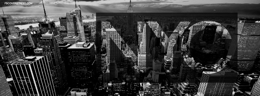 New York City Dark Square Facebook Cover