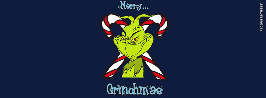 Merry Grinchmas  Facebook cover