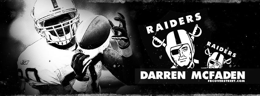 Darren Mcfaden Oakland Raiders 4 Facebook cover