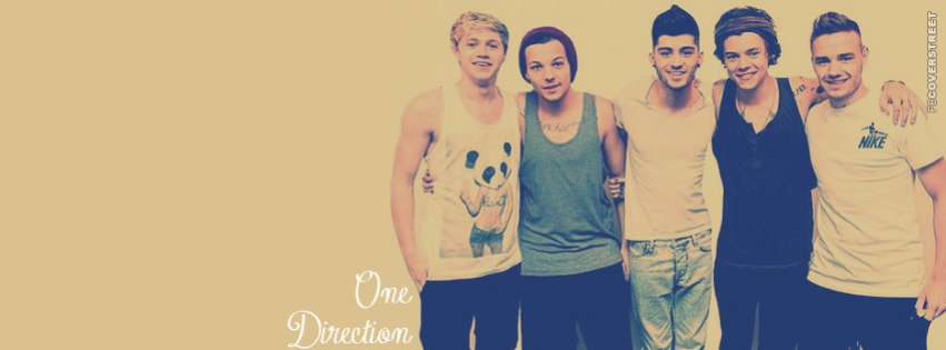 One Direction Simple Facebook cover