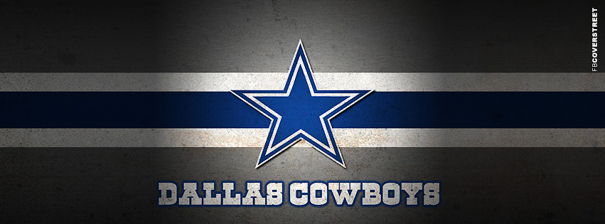 Dallas Cowboys Dirty Logo  Facebook cover