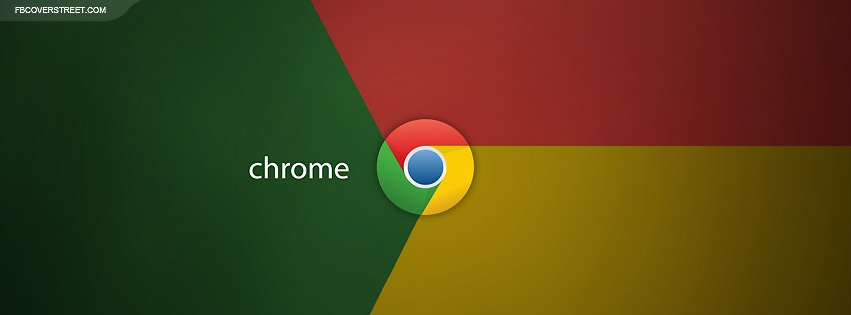 Google Chrome Logo  Facebook cover