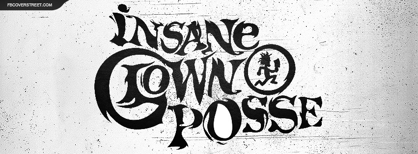 Insane Clown Posse Grungy Logo Facebook Cover