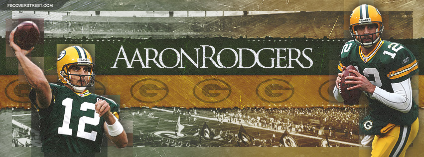 Aaron Rodgers Greenbay Packers Quarterback Facebook cover