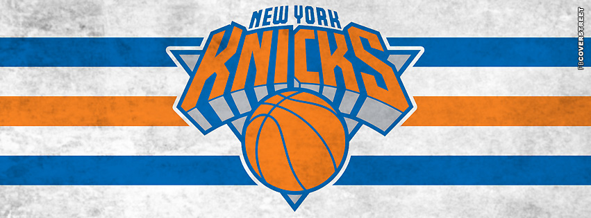 New York Knicks Dirty Logo  Facebook Cover