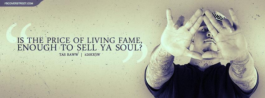 Tas Raww Sell Ya Soul Lyrics Facebook Cover