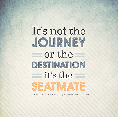 Its Not The Journey or Destination Facebook picture