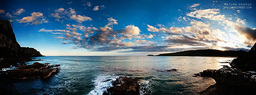 Beautiful Island Ocean Facebook Cover