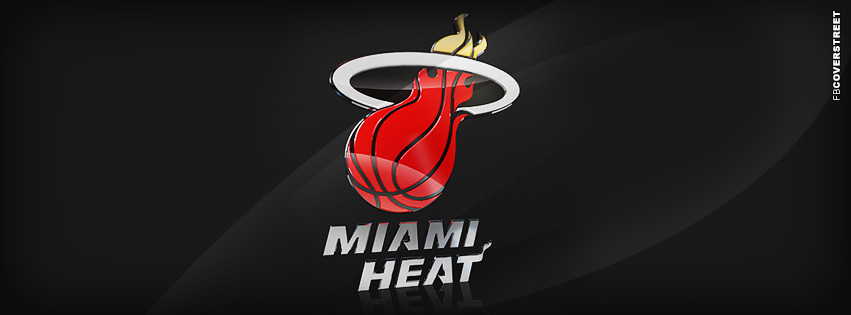 Miami Heat Modern logo  Facebook cover