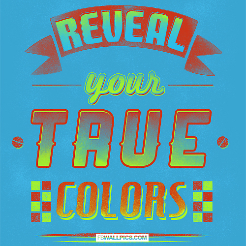 Reveal Your True Colors  Facebook picture