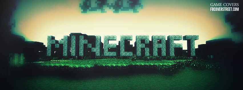 Minecraft 9 Facebook Cover