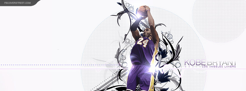Kobe Bryant Fade Away 2 Facebook Cover