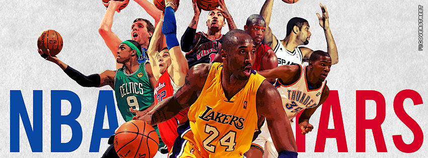 NBA All Stars Facebook Cover