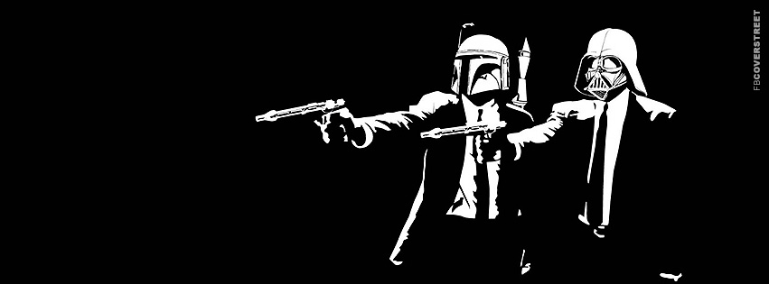 Star Wars Pulp Fiction Movie Facebook Cover