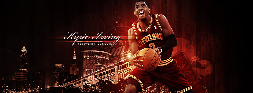 Kyrie Irving Cleveland Cavaliers 2 Facebook cover
