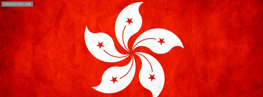 Hong Kong Flag 1 Facebook cover