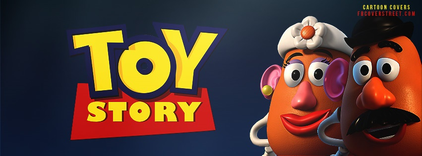 Toy Story Mr and Mrs Potato Head Facebook cover