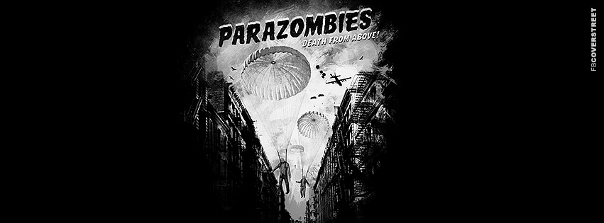 Parazombies Death From Above Movie Poster  Facebook cover