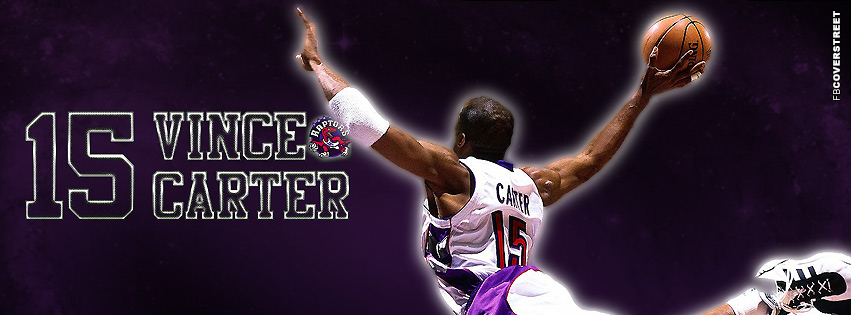 Toronto Raptors Vince Carter FB Cover  Facebook Cover