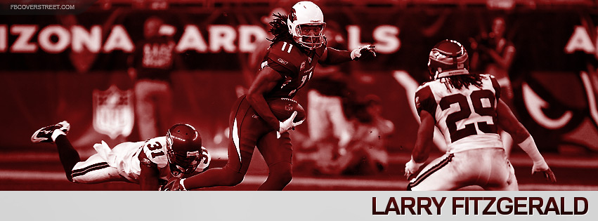 Larry Fitzgerald 2012 Arizona Cardinals Facebook cover