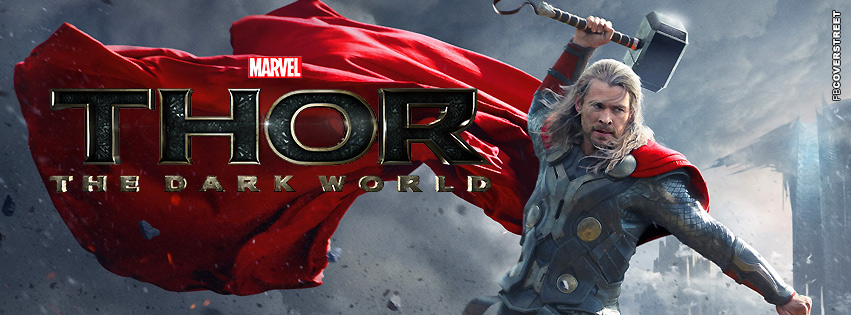 Thor The Dark World Facebook cover