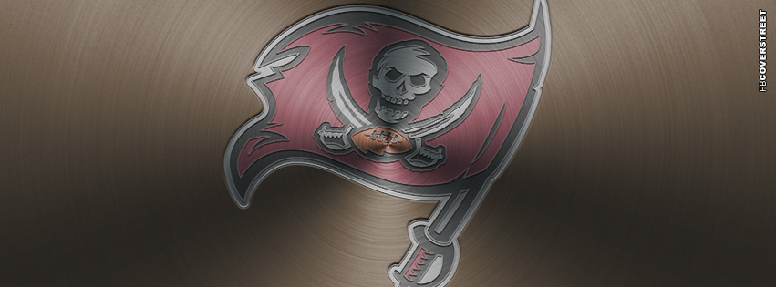 Tampa Bay Buccaneers Aluminum Logo Facebook Cover