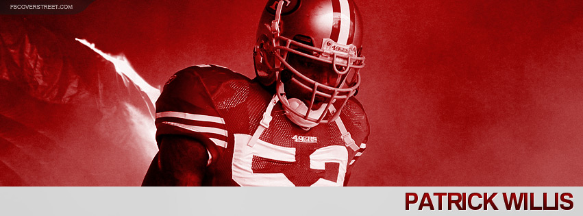 Patrick Willis 2012 San Francisco 49ers Facebook cover