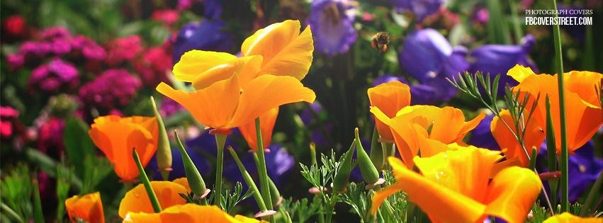 Flower Garden Facebook Cover