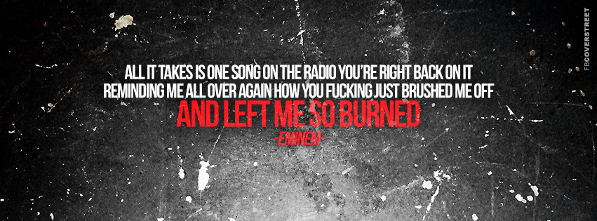 Eminem Marshall Mathers LP 2 Bad Guy Lyrics Quote  Facebook cover