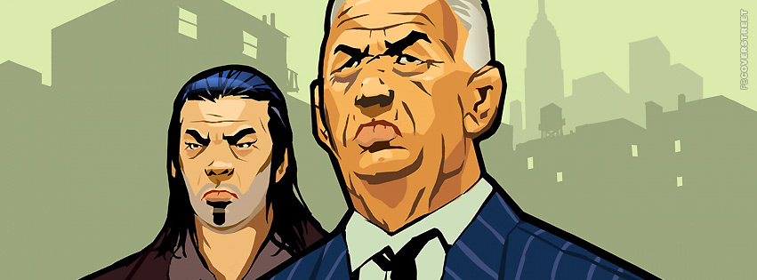 Grand Theft Auto Chinatown Wars FB  Facebook Cover