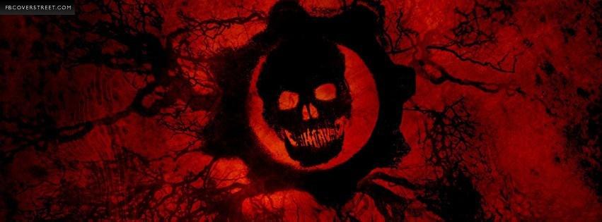 Gears of War 3 Logo Facebook Cover