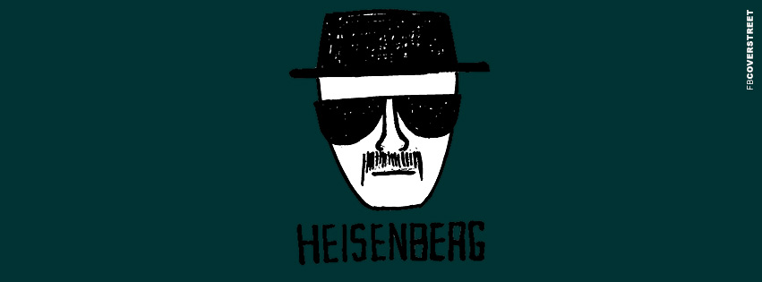 Heisenberg Police Sketch Breaking Bad Facebook Cover