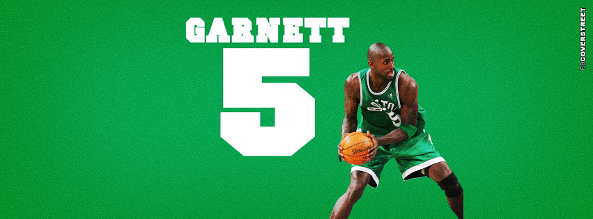 Boston Celtics Kevin Garnett  Facebook cover