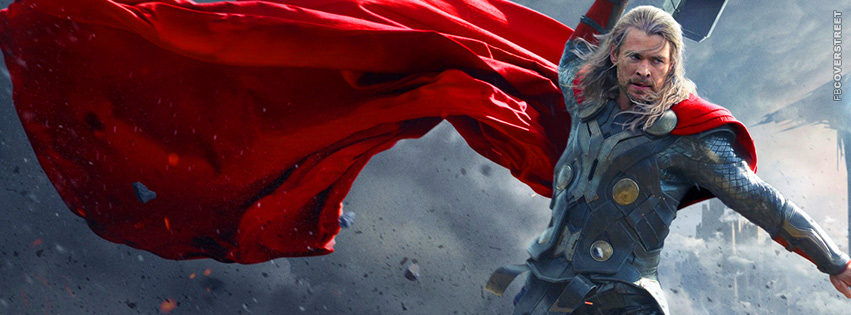 The Dark World Thor Movie Facebook Cover