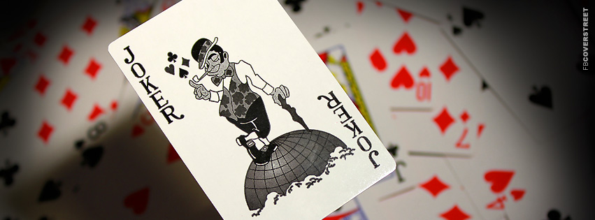 The Joker Card  Facebook Cover