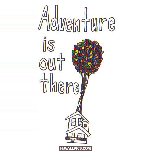 Adventure Is Out There Pixar UP  Facebook picture