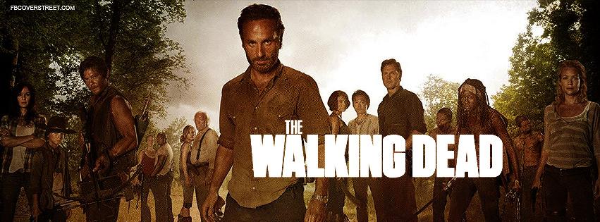 The Walking Dead Season 3 Poster Facebook Cover