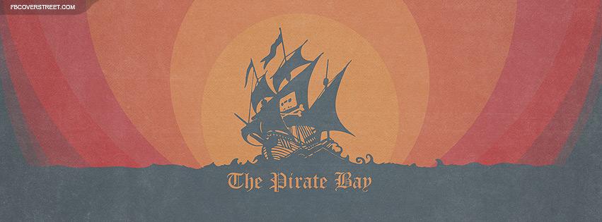 The Pirate Bay Sailing Ship Vector Facebook Cover