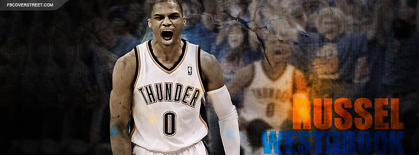 Russell Westbrook 5 Facebook cover