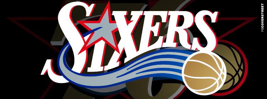 Philadelphia 76ers Logo Facebook Cover 2  Facebook cover
